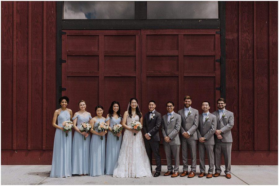 thomas family farm seattle snohomish wedding bridal party