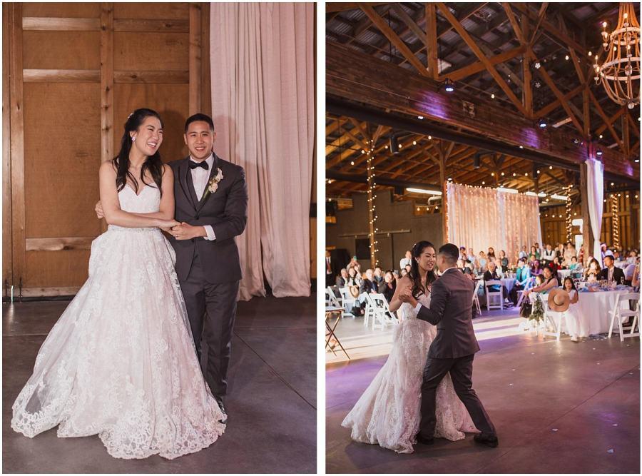 thomas family farm seattle snohomish wedding first dance