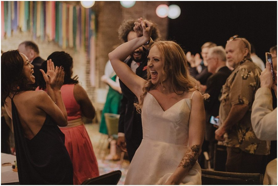 Intimate Filament Theater Chicago Wedding