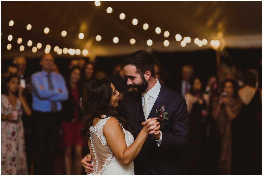 couple having first dance