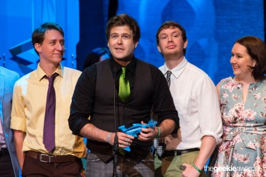 "winning ""Best Scripted Web Series"" at The Geekie Awards"