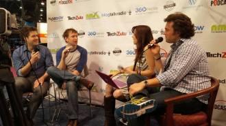 being Interviewed for Filmmaker Roadshow