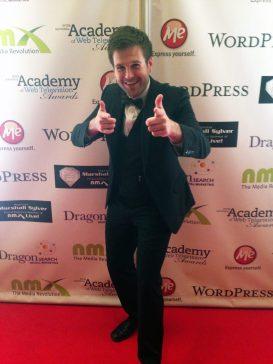 at the IAWTV Awards 2014