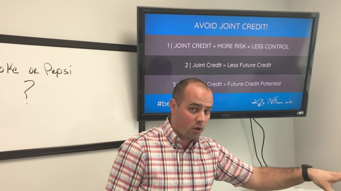 Avoid Joint Credit Card