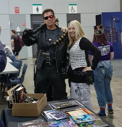 Tracey Harding and T2000