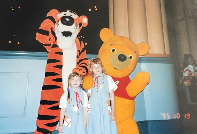 Vintage Kylie at Disney circa 1995