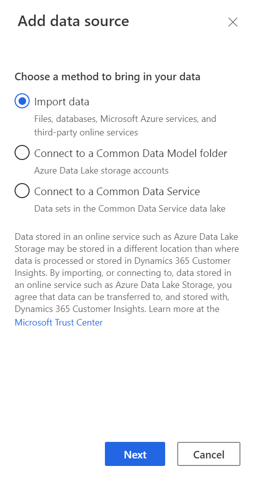 Add Additional Data Source