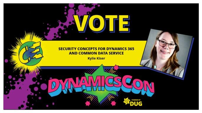 DynamicsCon 2021 Vote for Kylie Kiser