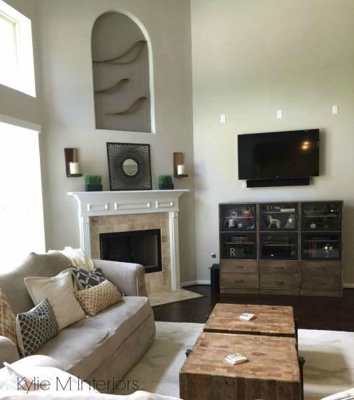 Decorating Ideas For Living Room With High Ceilings Novocom Top