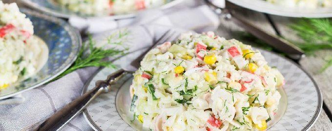 Crab Salad - 10 Delicious and Simple Recipes