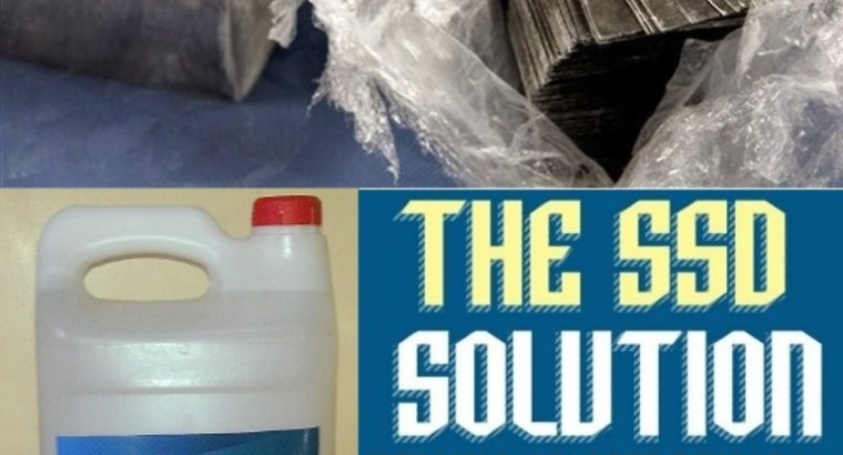 SSD BLACK MONEY CLEANING CHEMICAL SOLUTIONS
