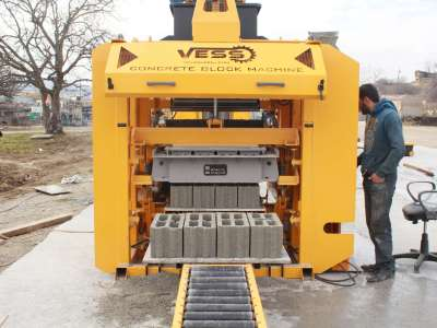 Block making machine in Ghana