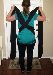 Babywearing 101: The Moby Wrap