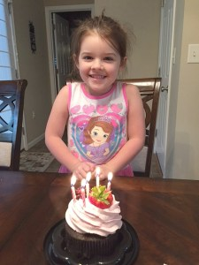 A Letter to My Daughter, On Her 5th Birthday