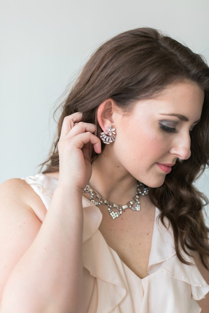 Stella & Dot offers unique and stylish pieces of jewelry for every woman on your gift-giving list. Perfect for bridesmaids, their options range from minimalist and sleek to bold and flashy. Featured here are the Stella & Dot Starburst Ear Jackets and Sutton Necklace. Both pieces would be great gifts that can actually be worn in the wedding as well!