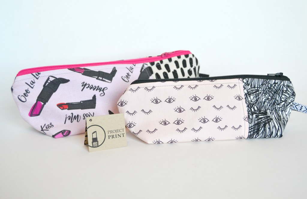 If you need a great gift idea for your bridesmaids or for any makeup lover, these darling makeup bags from Project Print are the perfect option! These cosmetics bags come in different sizes and a ton of different prints. You can also customize many of them with a personalized lining!