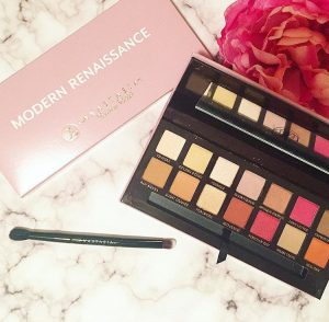 The Anastasia Beverly Hills Modern Renaissance Eyeshadow Palette is very popular for a reason. The colors are highly pigmented and look great on anyone, and the price tag is a tad more affordable than other high-end palettes. This would make a great gift for anyone who likes makeup.