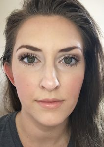 This look is using the Rimmel Stay Matte Foundation - it has a unique mousse formula and goes on smooth, feels light and has wonderful coverage!