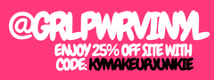 GRL PWR Vinyl sticker decals