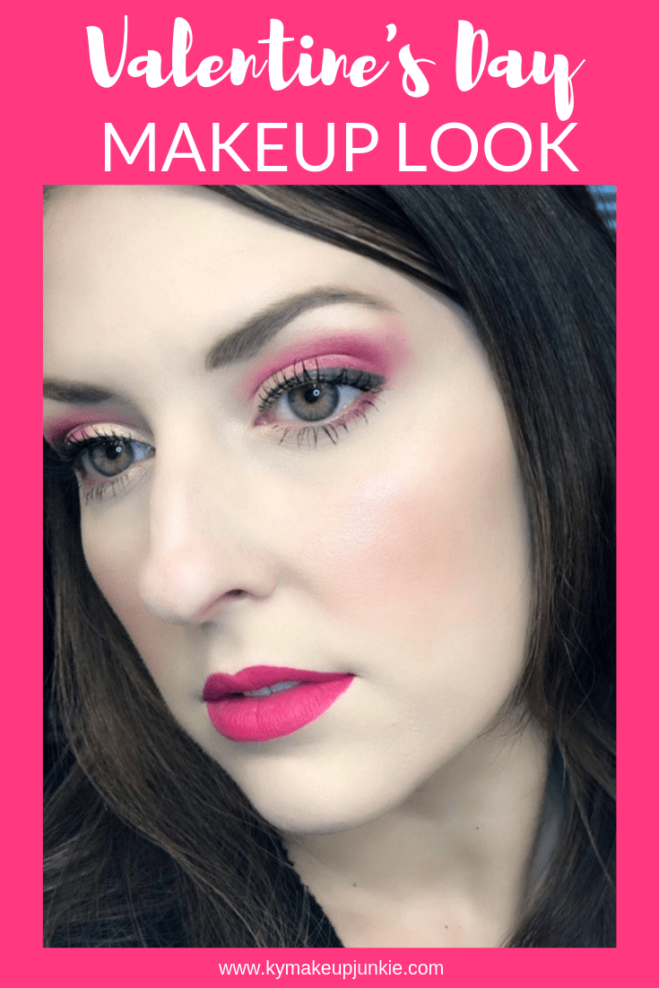 Happy Valentine's Day, friends! To suit the occasion, I created a fun makeup look for the holiday featuring one of my fave colors—Pink! I hope you enjoy this monochromatic look! Also, I have teamed up with some of my fellow bloggers that are showing off their fun Valentine's Day inspired looks as well, so check out my makeup details and my lovely Galentine friends below! I just love the looks they've created!