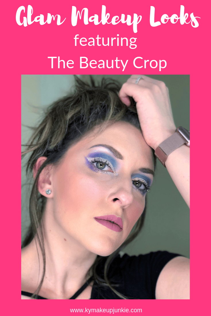 Glam makeup looks featuring the beauty crop - nutrition enhanced color cosmetics. Check out how to make the colors wearable for everyday or glam it up for a summer festival!