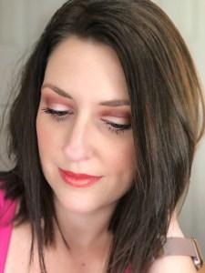 everyday bronze makeup look