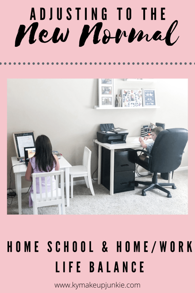 Is your family adjusting to the new normal? Working from home and school from home  has been a major adjustment this year for those affected. How has this new normal affected your family?