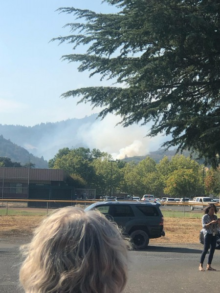This photo was sent to us by Mendocino County Sheriff Matt Kendall.