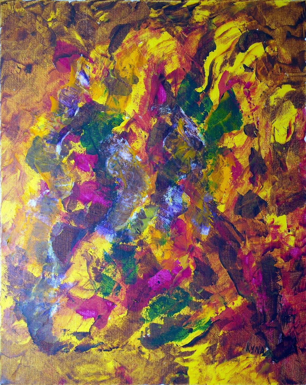 Safari Africain > Kyna de Schouel, artiste peintre