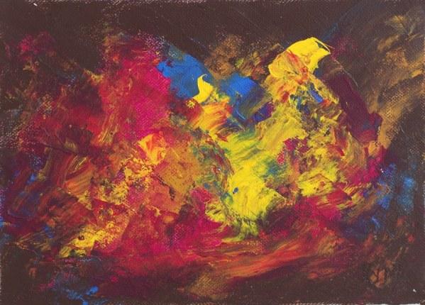 Clair obscur, peinture, Kyna de Schouël artiste peintre