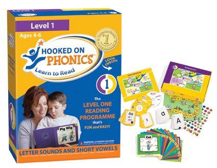 Hooked on Phonics có kèm flashcard, ebook và đĩa nghe giúp bé học tiếng Anh một cách toàn diện