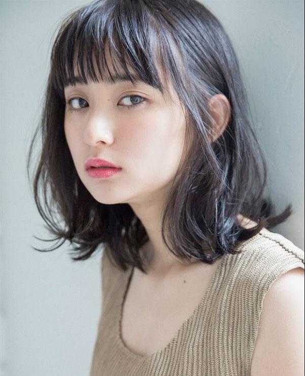 Tóc ngắn xoăn Hàn Quốc