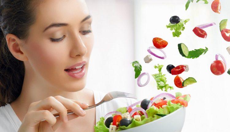 chế độ ăn nhiều rau, củ, quả giúp giảm cân nhanh chóng