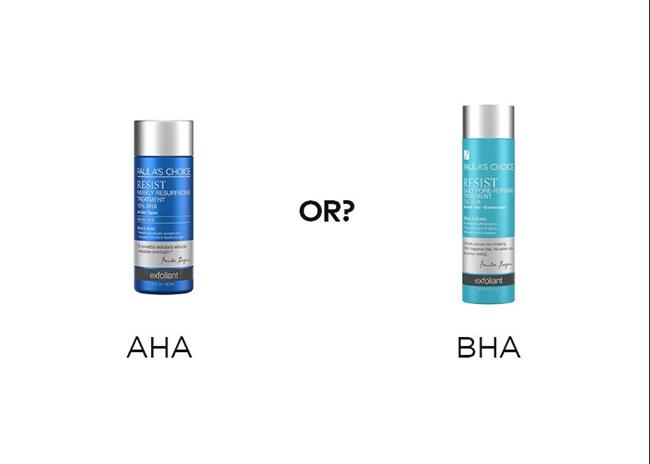 Cách phân biệt AHA và BHA