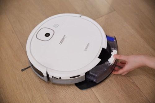 Review Robot Ecovacs Deebot DJ35 hút bụi lau nhà có tốt không?