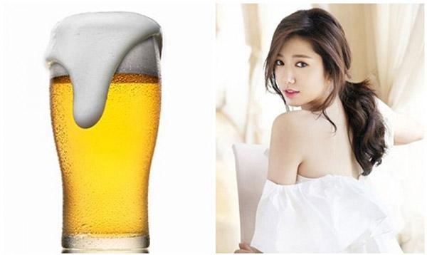 Tắm trắng bằng bia là một cách hữu hiệu để nâng tông làn da