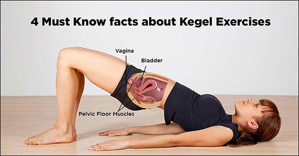 Bài tập Kegel cho vùng hông, xương chậu