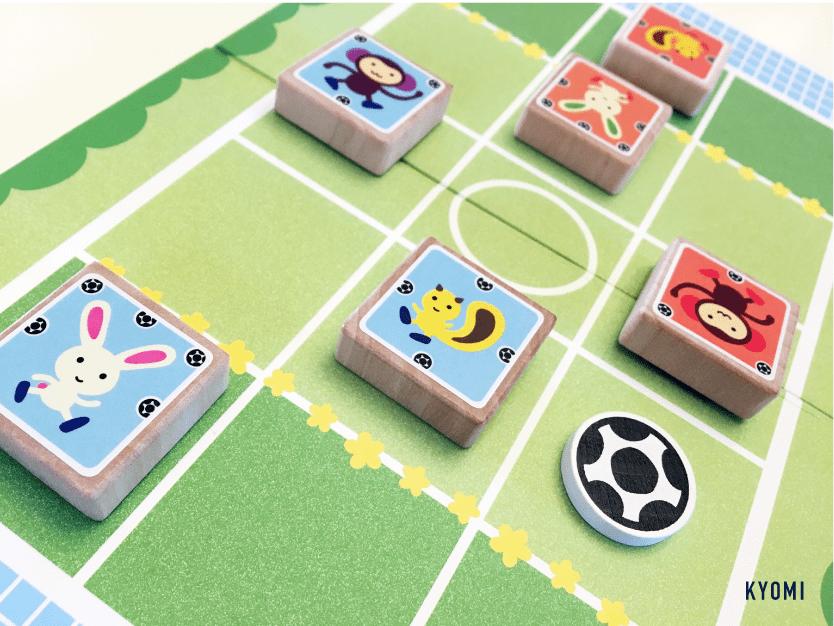 どうぶつサッカー-写真-ゲームプレイの様子