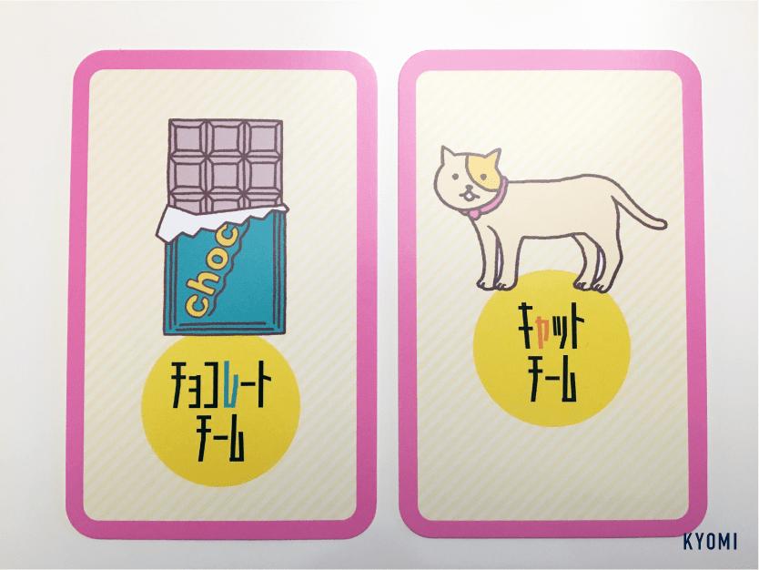 キャット&チョコレート-写真-チームカード