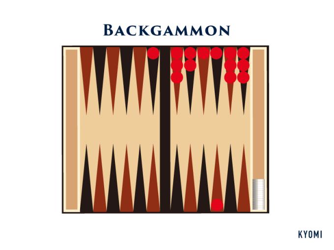 バックギャモン-図-バックギャモン勝ち