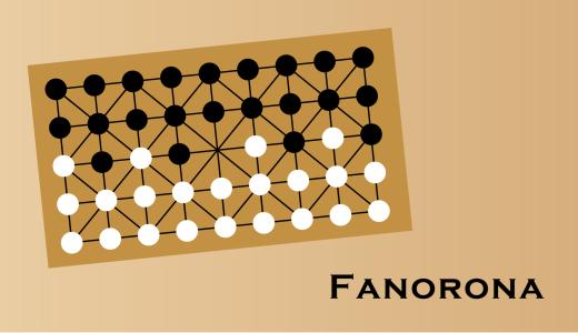 ファノロナ/Fanorona マダガスカルで17世紀頃から遊ばれている伝統ゲーム