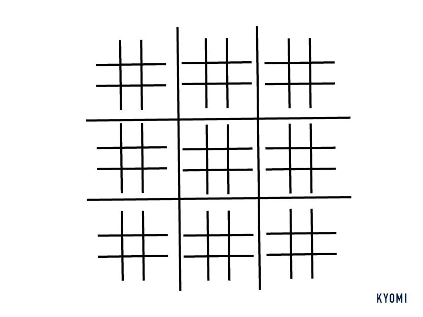 マルバツゲーム-図-準備
