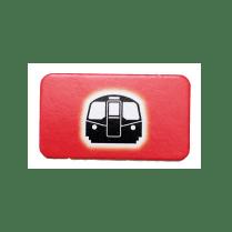 スコットランドヤード-チケット-電車
