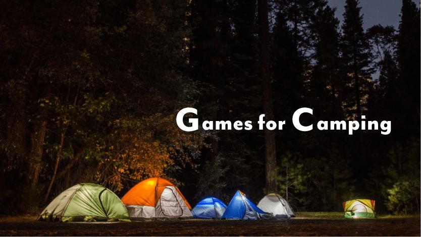 キャンプで遊びたいゲーム