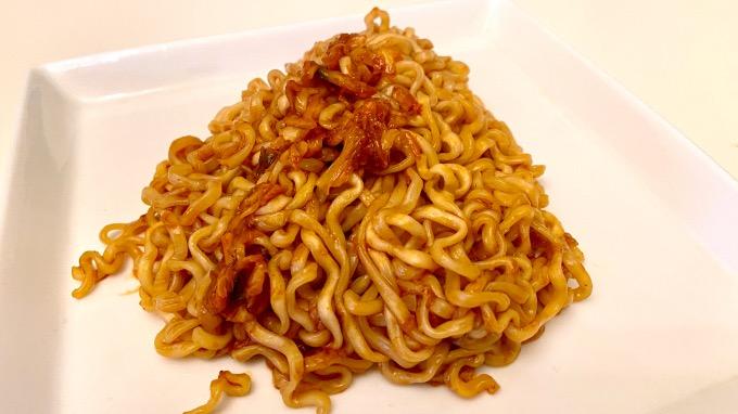 キムチブルダック炒め麺