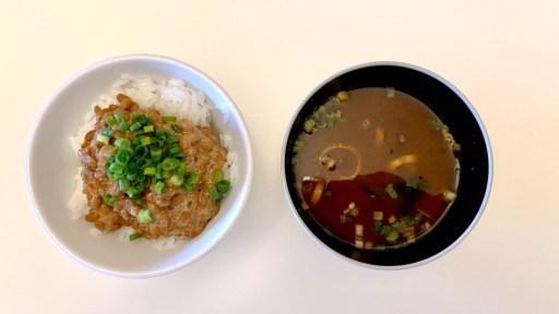 ひるげと納豆ご飯