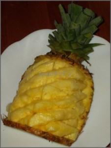paiha パイナップルの切り方 おしゃれなパティーを豪華にしたい!