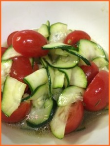 zukini605-1-226x300 ズッキーニレシピ 初心者でも簡単トマトと一緒に食べる作り方