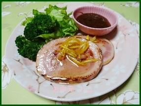 hamu1-300x285 ハムステーキレシピ人気10種類の手作りソース/お中元・お歳暮用