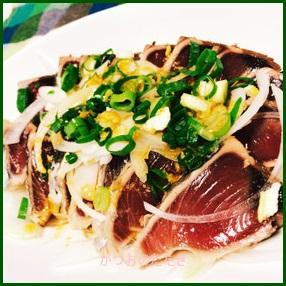 katuo702-1 カツオのたたき 人気のタレ作るレシピ